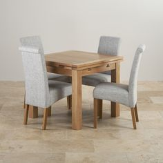 The Contemporary Chunky 4ft x 2ft Dining Table is a perfect