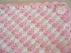 Free Crochet Baby Blanket Patterns   BABY BLANKET CROCHET DIAGONAL PATTERN « CROCHET FREE PATTERNS