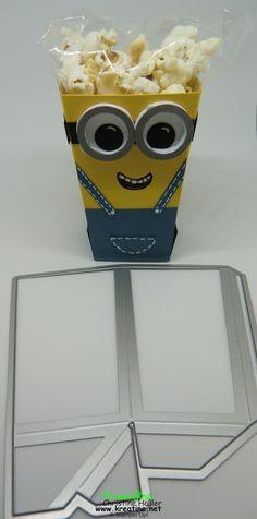 KreaTine: Neues Video: Popcorn-Box - eine Form - viele Möglichkeiten