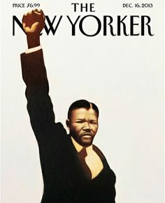 LOVE this new cover The New Yorker starring Nelson Mandela! New cover The New Yorker. The New Yorker, New Yorker Covers, Nelson Mandela, Mandela Art, Black Panthers, Apartheid, Black Power, Power Pop, Capas New Yorker