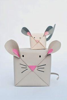 I want pretty: DIY-Envolturas originales/ Creative gift wraps!