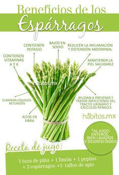 Beneficio de los Esparragos #salud #health #habitosmx #hábitos