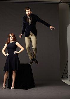 potobroadwaygirl:  David Tennant and Catherine Tate