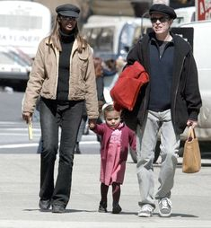 Memories: David Bowie brought his wife Iman and daughter to London