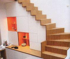 1000 images about kasten on pinterest van met and low bookcase - Midden kamer trap ...