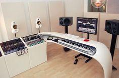 Music studio desk diy