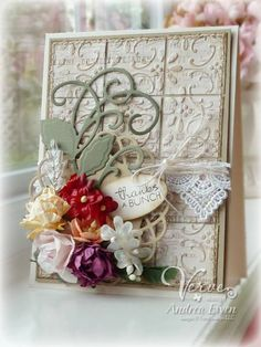 Embossed Quilt by AndreaEwen - Cards and Paper Crafts at Splitcoaststampers