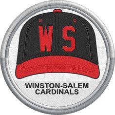 Winston-Salem Cardinals cap hat uniform sports logo - Carolina League - Minor League Baseball - MiLB - Created by John Majka Minor League Baseball, Winston Salem, Sports Logo, Cardinals, Caps Hats, Baseball Hats, Logos, Baseball Caps, Logo