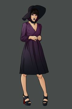Superheroine Fashion cosplay Nico Minoru