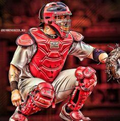 Yadier Molina Cardinals Baseball, St Louis Cardinals, Mlb, St Louis Baseball, Yadier Molina, Best Fan, The St, My Idol, Superhero