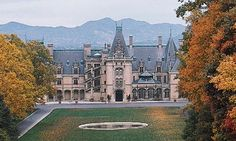 Biltmore Estate. Went here 2 times. Absolutely gorgeous!