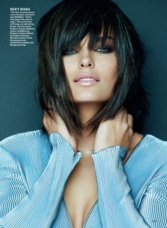 ☆ Alyssa Miller | Photography by Greg Kadel | For Allure Magazine | February… http://coffeespoonslytherin.tumblr.com/post/157338749267/hairstyle-ideas-i-love-this-hairdo-facebook
