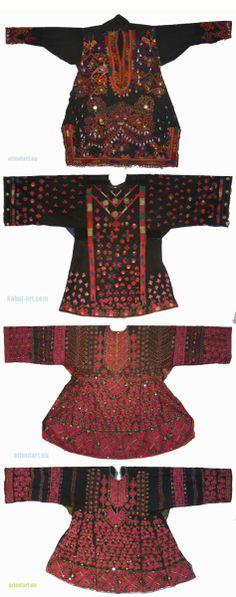SWAT Dresses, Afg / Pak textiles