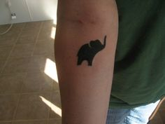 Elephant tattoo; solid would HURT