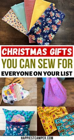 Quilted Christmas Gifts, Christmas Gifts To Make, Handmade Christmas Gifts, Christmas Ideas, Handmade Gifts, Easy Gifts To Make, Easy Homemade Gifts, Christmas Sewing Projects, Sewing Projects For Beginners