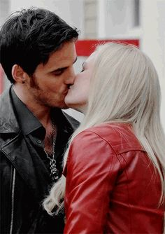 captain swan hair touching - Google Search