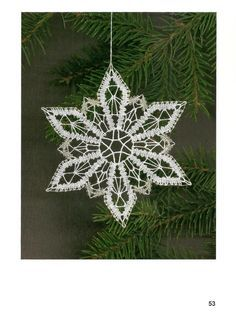 crochet a snowflake Crochet Christmas Ornaments, Holiday Crochet, Christmas Crafts, Merry Christmas, Snowflake Ornaments, Crochet Snowflake Pattern, Crochet Snowflakes, Crochet Motif, Crochet Edgings