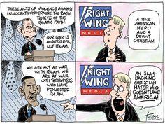The Conservative Media Apparatus' hypocrisy and double standards regarding Bush 43 and Obama's handing of terrorism. @mediamatters