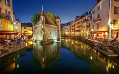 Annecy, France - Photography by İlhan Eroglu France Photography, Stunning Photography, Places To Travel, Places To Visit, Beautiful Vacation Spots, Annecy France, City Wallpaper, City Architecture, Travel Abroad