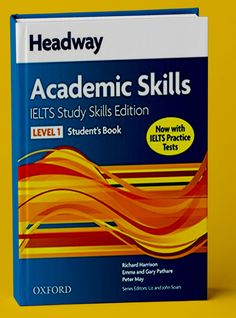 Check out Headway Academic Skills for IELTS( pdf and Audio) Ielts Listening, Ielts Reading, Ielts Writing, Academic Writing, Grammar Book Pdf, English Grammar Book, English Book, Learn English, Pte Academic
