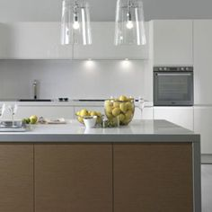 berloni kitchen - like the island wrap around - EOS endows space with linear, rigorous forms. The emotion of white, the natural sensation ...