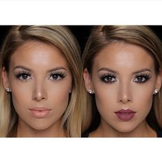 """""""Beautiful day AND night look by @lustrelux which one do you prefer? """""""
