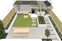 Robustly cozy in Zwolle – Own Home and Garden Robustly cozy in Zwolle – Own Home and Garden Modern Backyard, Backyard Patio, Backyard Landscaping, Garden Design Plans, Small Garden Design, Dream Garden, Home And Garden, Terrace Garden, Back Gardens