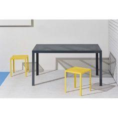 "RAD Furniture Howard Series Dining Table Finish: Orange, Table Size: 90"" L x 29"" W"