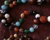 Earth Love Mixed Gemstone Mala by The Integrating Path