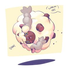 Dynamax Wooloo Pokemon Pokemon Characters Cute Pokemon