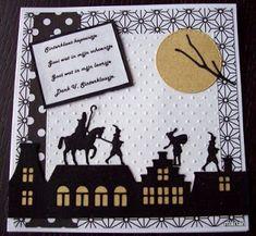oma's kaartenhoekje: Sinterklaas