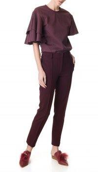 Tailored Ponte Slim Pants