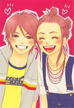 Lovely Complex-- My favorite manga of all time ♡♥♡♥ Koizumi Risa, Lovely Complex Anime, Manga Anime, Complex Art, Gekkan Shoujo, Kaichou Wa Maid Sama, Fan Art, I Love Anime, Anime Comics