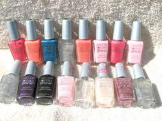 Wet n Wild Wild Shine Nail Polish Lot of 16 (8 Different Colors)