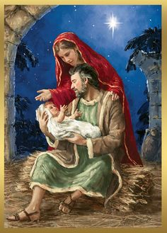 Rejoicing Holy Family Cross Stitch Pattern***L@@K***$4.95 CLICK VISIT TO SEE PATTERN FORSALE