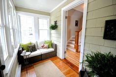Great remodel idea for the front porch - Craftsman Bungalow Porch AFTER SOPO