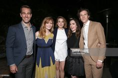 James Van Der Beek, Kimberly Van Der Beek, Majandra Delfino, Zoe Lister-Jones and Director Daryl Wein attend the after party for the 2015 Los Angeles Film Festival Premiere Of Mister Lister Films' 'Consumed' at Hotel Figueroa on June 15, 2015 in Los Angeles, California.