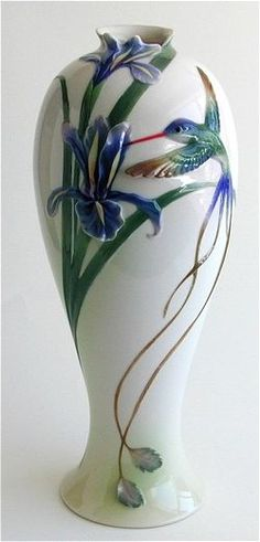 Hummingbird Vase Tall