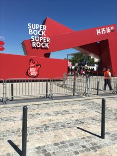 📍Lisbon, Portugal SUPER BOCK SUPER ROCK