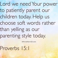 Prayer for Patient Mothering - A Proverbs Wife
