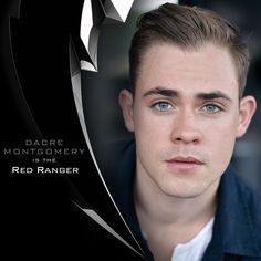 """#DacreMontgomery is officially suiting up as the #RedRanger. Get excited for the @PowerRangersMovie, coming in 2017!"""