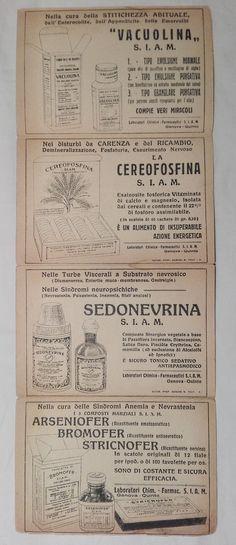 Pieghevole pubblicitario dei prodotti S.I.A.M - anni Venti / Trenta - Retro - foto di Claudio P.