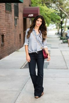 4 Reasons You Need A Pair Of Flare Jeans …