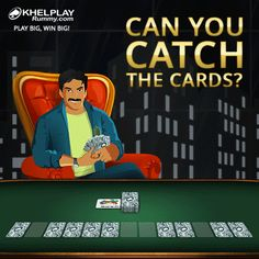 via GIPHY  If Yes! Send a screenshot with all the #Rummy cards arranged in the right order & you have a surprize waiting for you