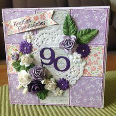 Randis hobbyverden: Födselsdagskort til en 90-åring