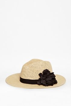 Love this  Dashee Straw Hat  Lyst French Connection 295d255839db