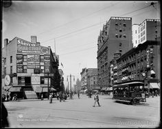 Buffalo, Main Street, 1900