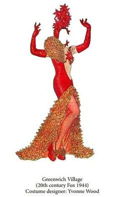 Carmen Miranda paper doll dress / doverpublications.com
