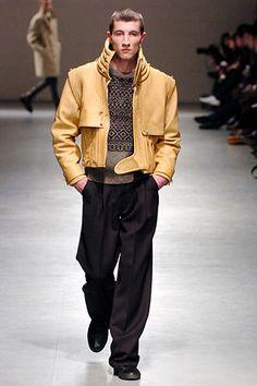 Raf Simons Fall 2005 Menswear Fashion Show