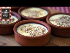 Kıvamı Tam Tutan Saray Muhallebisi Tarifi - Turkish Milk Pudding (Custard) Recipe - YouTube